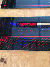 Rock-Ola 460 Jukebox part: Top & Mid-Section Glass