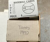 Topps Baseball Cards **2 Complete Sets*** 1990-1991 NM-MT