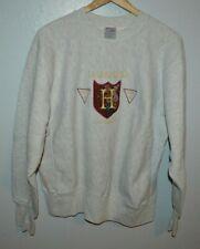 Harvard University Reverse Weave Style Mens Vintage Sweatshirt Fits Slimmer Med