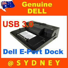 DELL E-Port Docking Station USB 3.0 PR03X Port Replicator LATITUDE NO AC