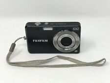 Fujifilm FinePix J20 10MP Digital Black Camera Only - Tested & Working