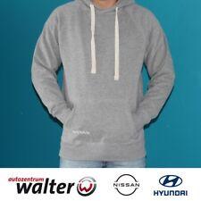 Hoody Pullover Herren Männer Nissan Original Merchandising grau