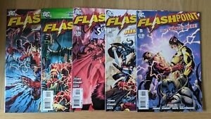 DC Flashpoint 1 - 5 Complete Set First Print NM