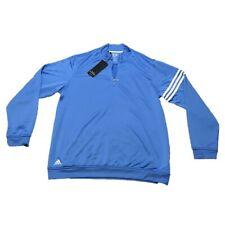 Adidas Golf - Mens L, 1/4 Zip, Climalite Pullover Jacket - Long Sleeve