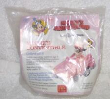 McDonald's 1988 Mickey Birthdayland MINNIE MOUSE Pullback Car Toy DISNEY MIP