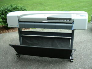 "HP DesignJet 510 (CH337A) Plotter Large/Wide-Format 42"" Inkjet Printer GOOD!"
