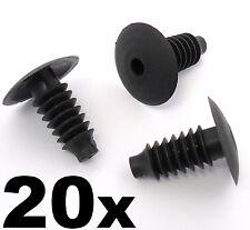 20x Vauxhall Plastic Trim Clips- Bung Plug Door Boot Lining Roof Carpet Panels