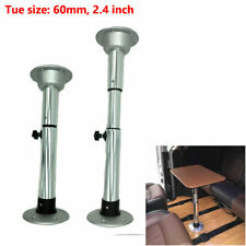 "22-28"" Aluminum Adjustable Table Pedestal With Removable Base For Marine Boat RV"