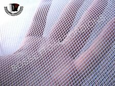 """Accordion Grille Lining Soft Net WHITE 18"""" x 7"""" ITALY Ersatzteile 2 for 1"""