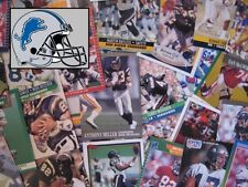 DETROIT LIONS - 1,000 Card Megalot (Assorted Players, Years, Companies)