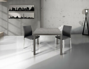 Table With Plan Grey, Opening Folding