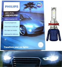 Philips Ultinon LED G2 White 6000K H11 Fog Light Two Bulbs Upgrade Replacement