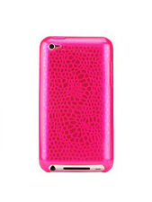Gecko Gear Pink GLOW in the Dark Case - w/ Anti-Glare Guard for iPod Touch 4G