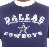 Dallas Cowboys T Shirt Blue National Football League NFL Star Mens Large
