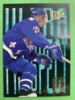 1994-95 Fleer Ultra Prospects RC #1 Of 10 Peter Forsberg Quebec Nordiques Rookie