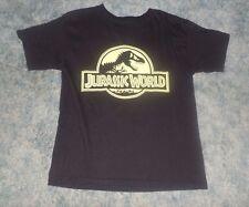 Boys Jurassic World Black T-Shirt Size Large