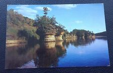 POSTCARD: INK STAND: WISCONSIN RIVER: POSTED: POST DATE ON CARD IS 1993