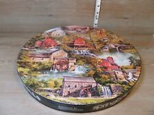 Springbok Grist Mills Jigsaw Puzzle Circular Asterio Pascolini VTG 1972