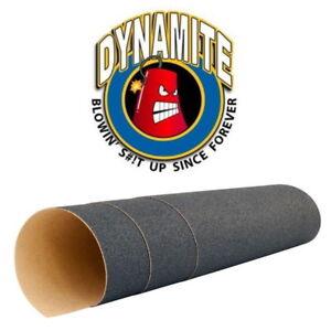 """Dynamite Forever Absolute Grip Tape 11"""" x 46"""" Longboard Skateboard Griptape"""