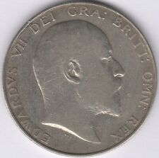 More details for 1908 edward vii silver half crown | british coins | pennies2pounds