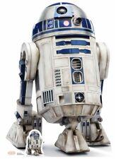 R2-D2 Star Wars The Last Jedi Lifesize and Mini Cardboard Cutout / Standup