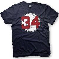 David Ortiz - Big Papi -Boston Red Sox - Number 34 T-Shirt  - Retirement
