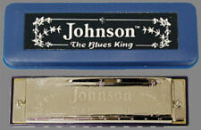 Johnson Blues King Harmonica Key of A