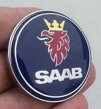 SAAB 9-3 9000 900 in Resina a Cupola Cofano Badge parte Nuovo di Zecca # 4522884