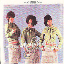 Where Did Our Love Go/I Hear a Symphony by The Supremes (2 albums on 1 CD) NEW!