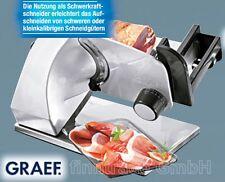 GRAEF MASTER 188 Allesschneider Schwerkraftschneider 170 W Aufschnittmaschine