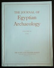 The Journal of Egyptian Archaeology Volume 80 1994 The Egypt Exploration Society