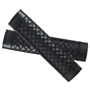 2pcs/set Leather Car Seat Belt Cover Pad Safety Shoulder Strap Cover Universal