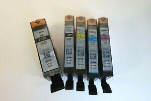 Canon 280 281 Ink Cartridge PGI280 CLI281 CMYK (5) NEW OEM Genuine Sealed Setup