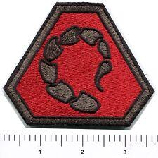 C&C NOD Scorpion Emblem Patch Right Shoulder Command Conquer Hook Black Border