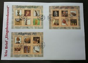 United Nations Indigenous Art 2006 Musical Instrument (FDC *different PMK *rare