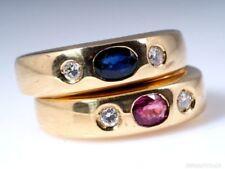 Echtschmuck-Ringe aus Gelbgold mit 51 (16,2 mm Ø) Diamant