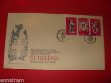 Queen Elizabeth II Silver Jubilee FDC 25 Coronation St Helena 1978 #2
