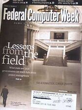 Federal Computer Week Magazine Lessons From The Field May 19, 2003 082817nonrh2