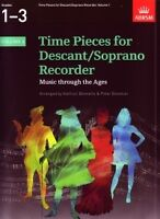 TIME PIECES FOR DESCANT RECORDER Vol 1*