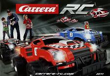 Prospekt Carrera RC 2011 Katalog 1:10 12 1:14 1:16 1:18 Helikopter Ferrari-Boot