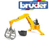 Bruder Tractor Accessory Rear Hydraulic Arm & Grab Kids Farm Toy Model 1:16