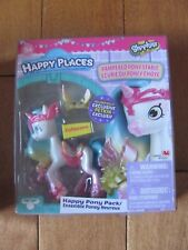 Shopkins Happy Places CUTIECORN Happy Pony Pack w/ Exclusive Petkin NEW