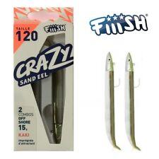 FIIISH Crazy Sand Eel 120 doppio Combo OFF SHORE 15 G Cachi-THE Bass Lure!