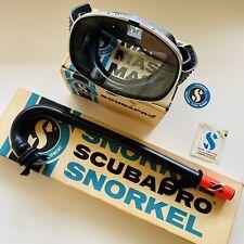 New listing Vintage Collectible Scubapro Scuba Set. Mask and snorkel.