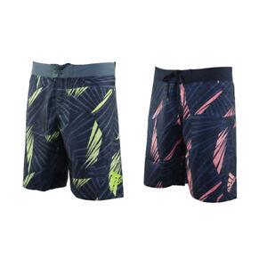Adidas Graphic Tech Swim Shorts Swimming Pool Swimwear FJ3919 / FJ3906
