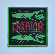 KREATOR [green] - Woven Patch / Sodom Destruction Morbid Saint Sadus Warbringer