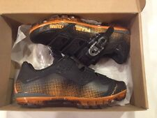Pearl Izumi X-Project 2.0 Cycling Shoes Black/Orange Size 39 Mens 7 womens 8.5