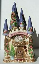 Heather Goldminc Blue Sky Clayworks Happily Ever After Castle White Cat Tealight