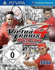 Sony Playstation Vita SV PSVITA Virtua Tennis 4 World tour edition NOUVEAU * NEW