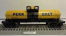 LIONEL 6-26713 SINGLE DOME TANK CAR PENN SALT O GAUGE K-LINE TANK CAR